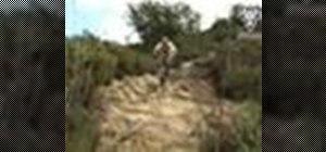 Ride a rock garden