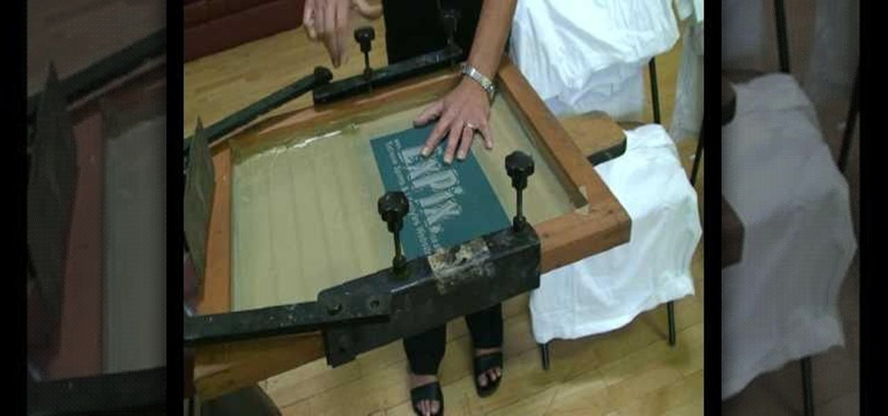How To Silk Screen Print T Shirts In Four Minutes