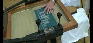 How to make a cheap diy silkscreen for screen printing for Cheap silk screen t shirts