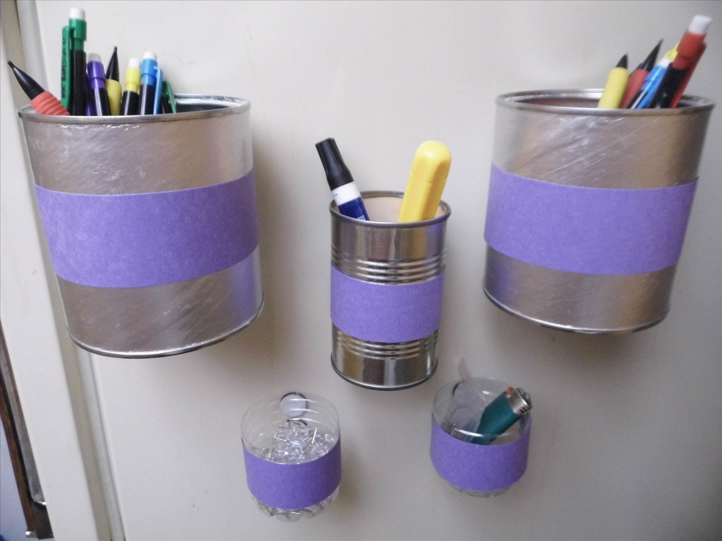 Organize Your Odds and Ends with These Easy DIY Magnetic Bins