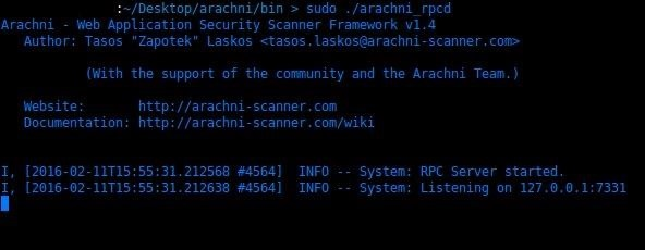 How to Scan Websites for Vulnerabilities with Arachni