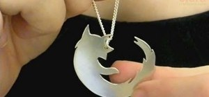 Make a pendant with the Firefox logo