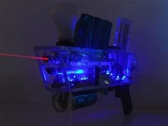 Laser Coil Gun Shoots Bullets on Pure Electricity