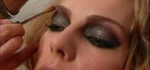 Use dramatic eye makeup for a gothic look