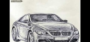 Draw a BMW car