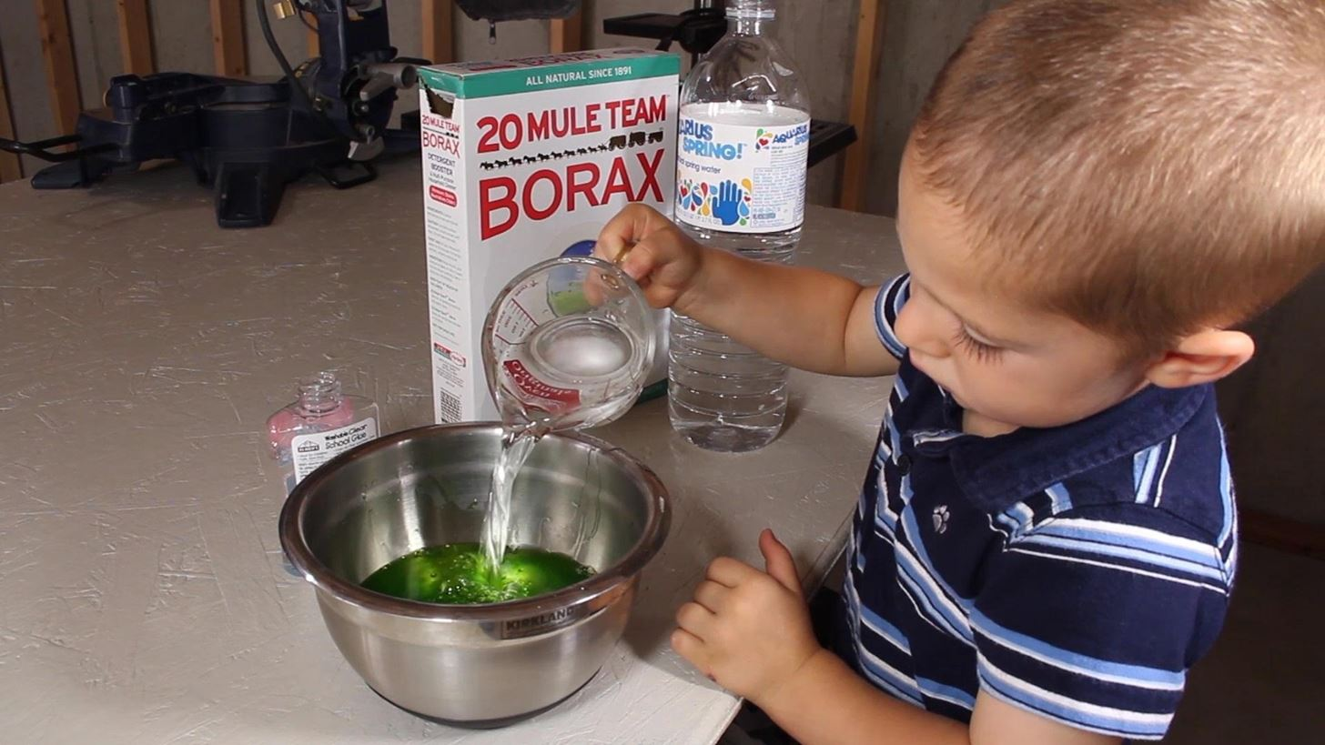 DIY Ninja Turtle Ooze! Make Your Own Radioactive Canister of Glowing Green Slime at Home