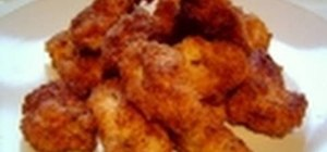 Make crispy chicken nuggets with chicken breasts