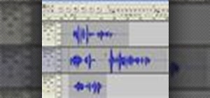 Edit a recording or imported audio file in Audacity