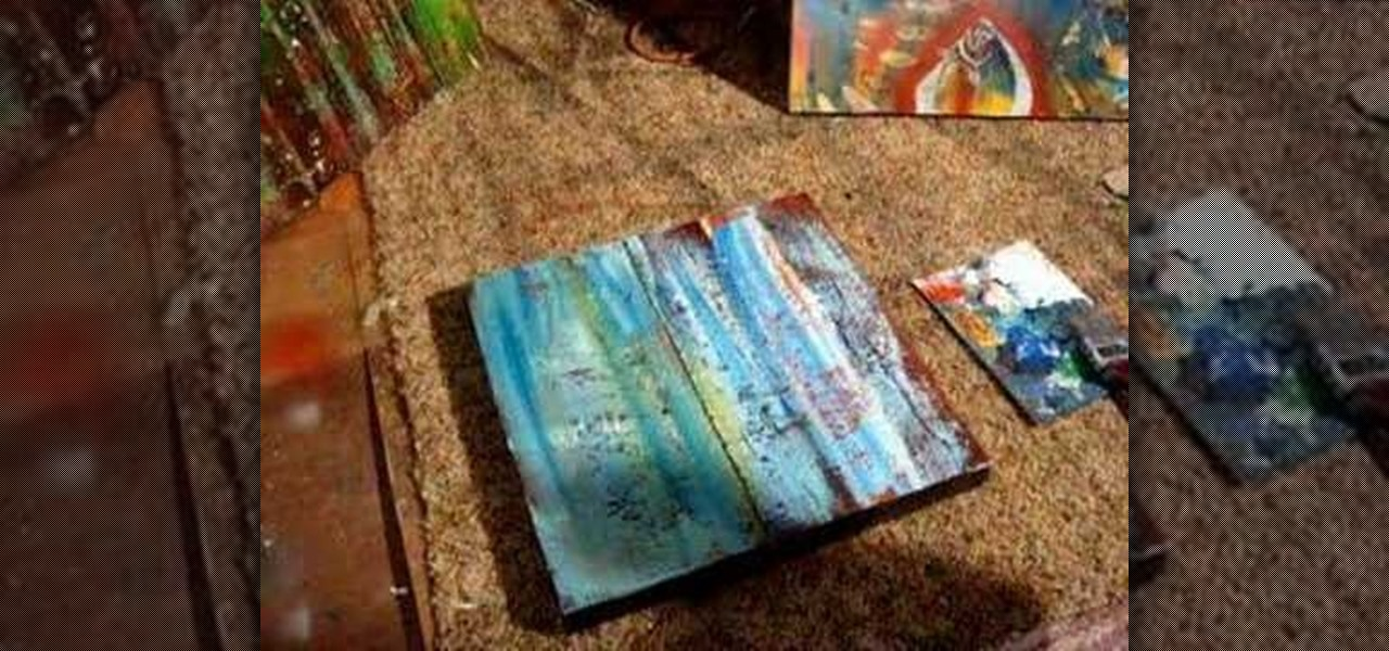 How to paint the texture of water painting tips for Texture painting on canvas