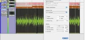Use elastic audio in ProTools 7.4