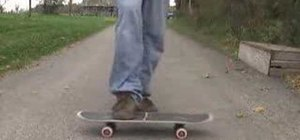 Do a Nosehook Impossible on a skateboard