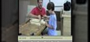 Build a folding wooden chair with your kids