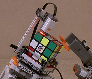 Swede Concocts Rubik's and Sudoku Brainiac LEGO-Bots