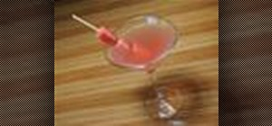 Make the Pink Goose vodka cocktail