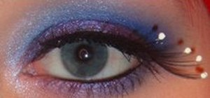Create a blueberry fizz eye makeup look with XSparkage