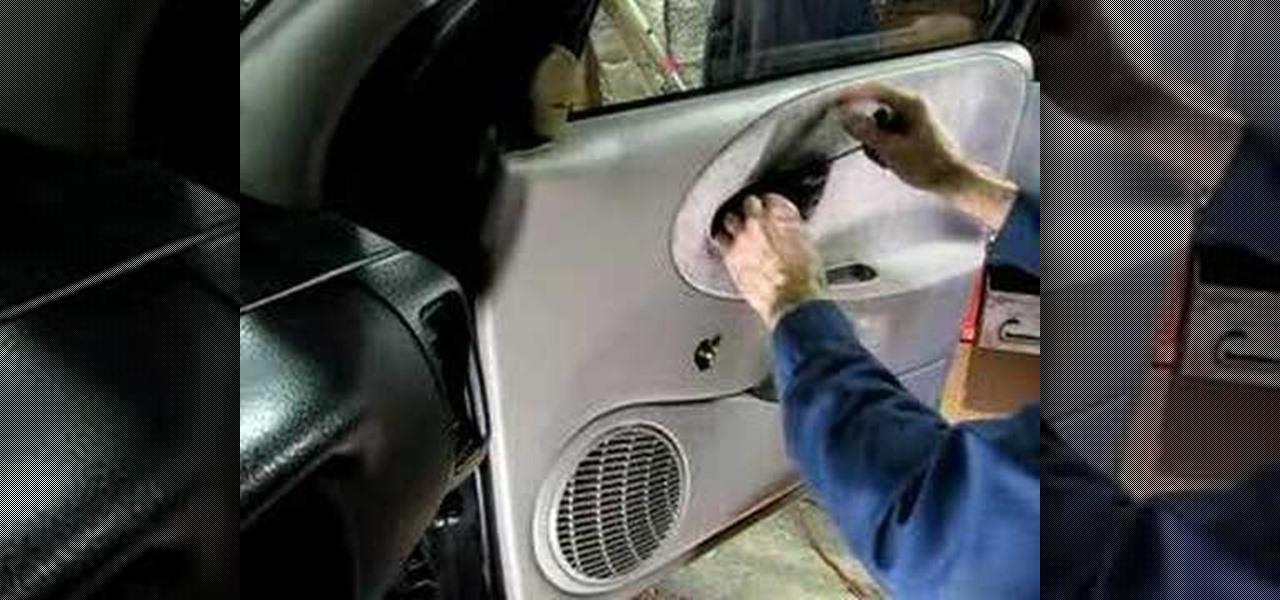 How To Remove The Inner Door Panel In A Saturn S Series Car « Auto  Maintenance U0026 Repairs :: WonderHowTo