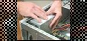 Install a PC power supply