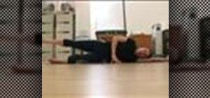 Do Pilates side leg lifts
