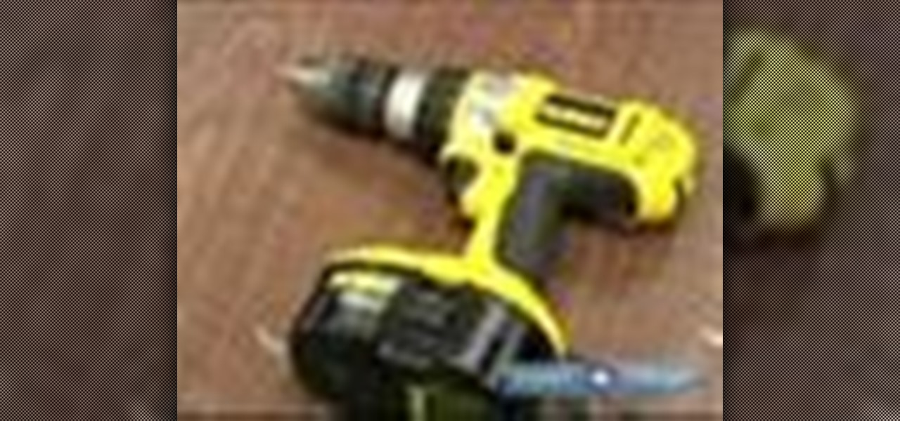 How To Use A Power Screwdriver 171 Tools Amp Equipment