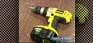 Use a power screwdriver