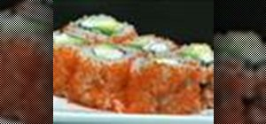 Make a California Roll uramaki