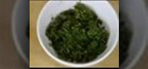 Make mint pesto