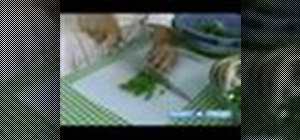 Cook string beans with balsamic butter