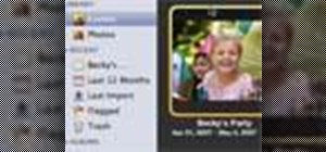 Organize photos using events in iPhoto '08