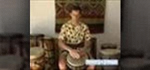 Play advanced djembe drum
