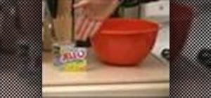 Make jello desserts