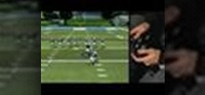 Use game controls when playing Madden 08