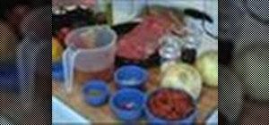 MakeRopavieja (Cuban stew)