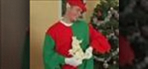 Make an Elf costume for Christmas