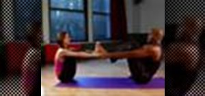 Do partner yoga stretches