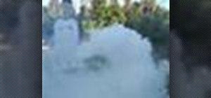 Make a Ping-Pong smoke bomb
