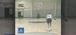 Jab dribble, step back, and shoot in basketball