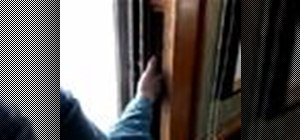 Replace window sash cords