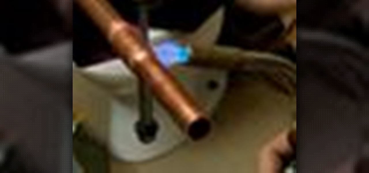 How to solder copper pipes with this old house plumbing for What are old plumbing pipes made of