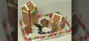 Make and decorate an gingerbread house