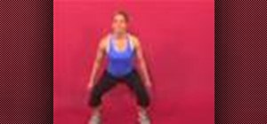 Exercise with the walking side lunge