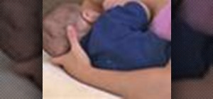Position your baby during breastfeeding