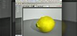 Use specular maps to texture a lemon in Maya