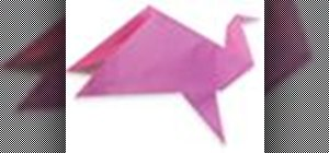 Origami your own flapping bird Japanese style