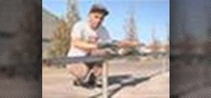 Grind a rail