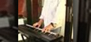 Play keyboards in a church band