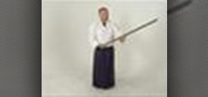 Perform the Jogi 2 Aikido staff form