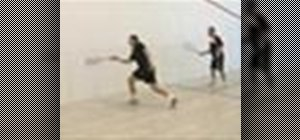 Use two player squash drills