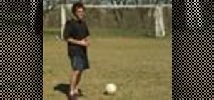 Play indirect free kicks in soccer