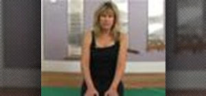 Do pilates stretch band exercises for legs