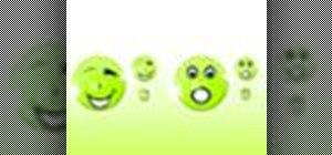Design custom emoticons in Photoshop